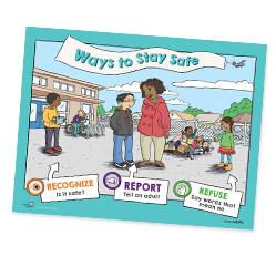 CPU G5 ways to stay safe poster