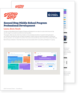 Middle School Curriculum | Second Step