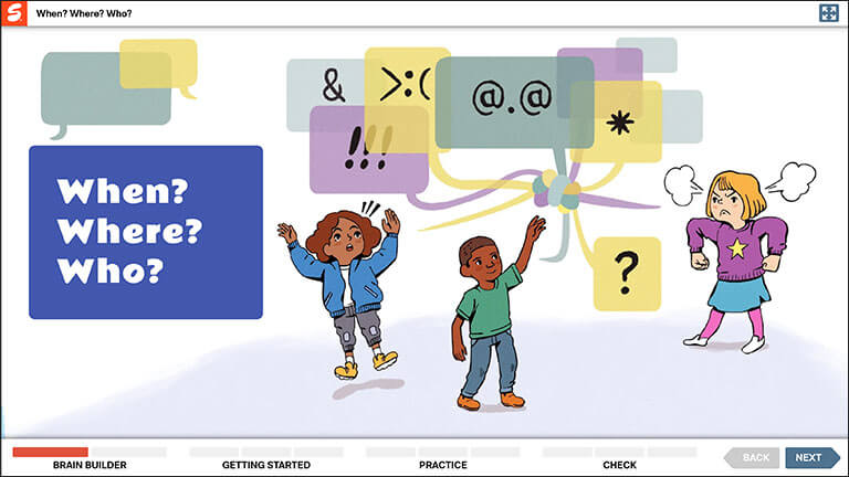 grade 5 lesson screen