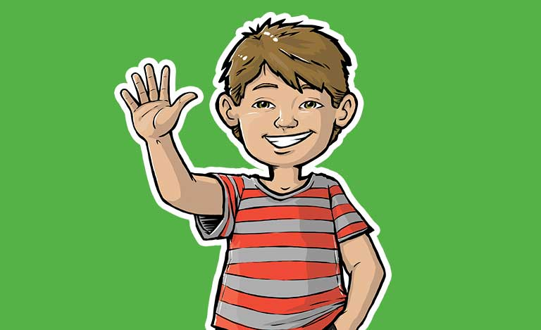 boy cartoon