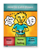 Grade 2 How to calm down poster
