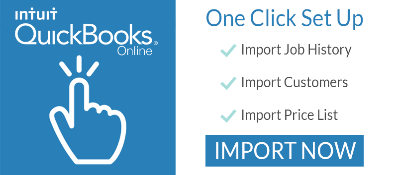 QuickBooks one click setup
