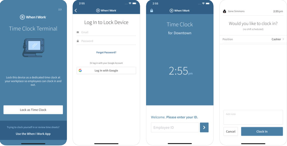 20 Best Time Clock Apps for Small Business | Housecall Pro