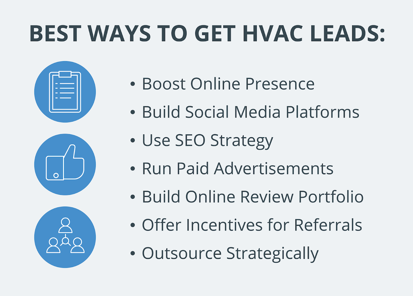 Best ways to get HVAC leads