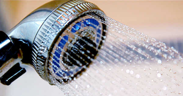 A showerhead that is new plumbing technology,