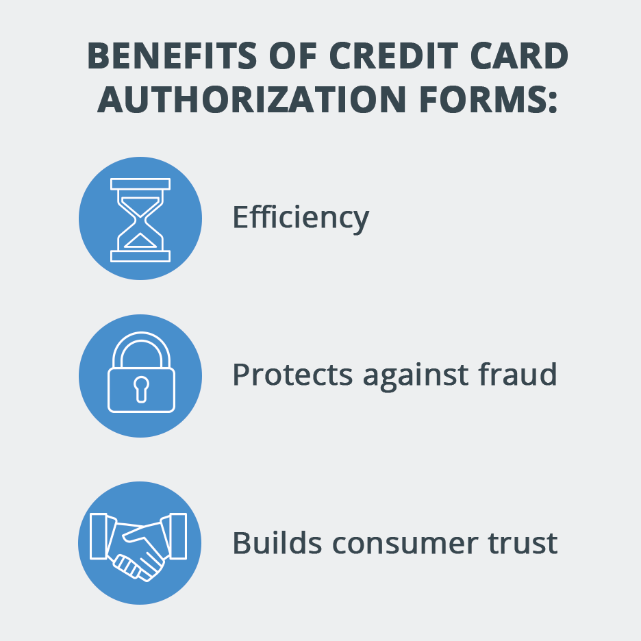 Benefits of Credit Card Authorization Forms