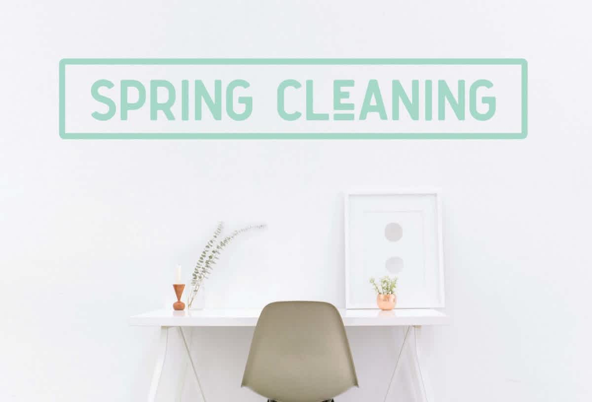 spring clean is a great time for small businesses to do direct mail marketing