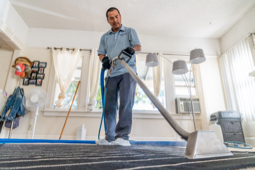 Carpet cleaning pro saving time