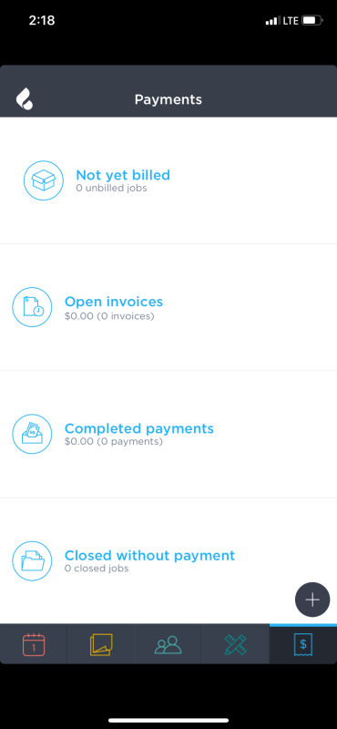 Payments on Breezeworks