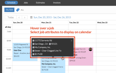 Calendar and New Features