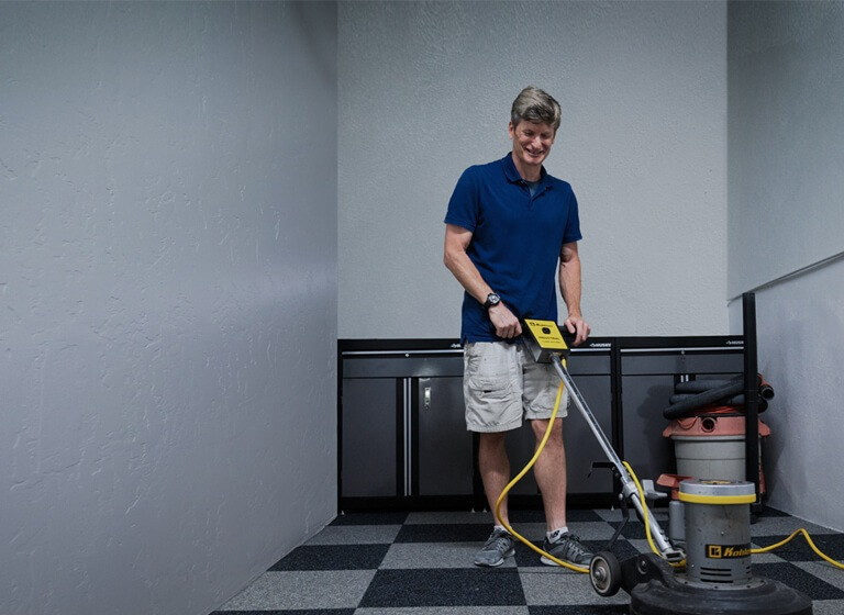 Carpet cleaning hero