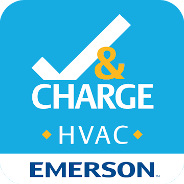 HVAC Check and Charge Logo
