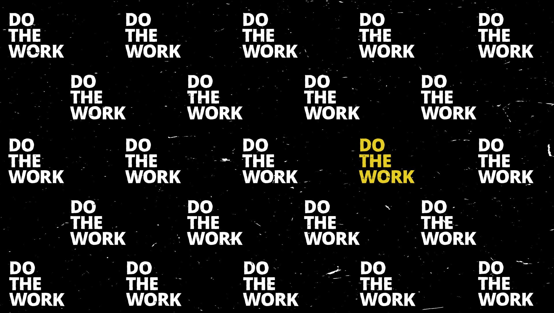 do the work footer image
