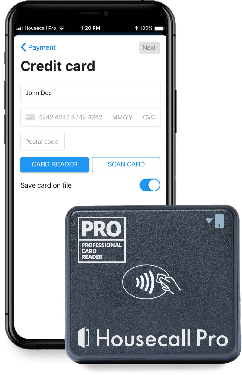 Housecall Pro Credit Card Processing