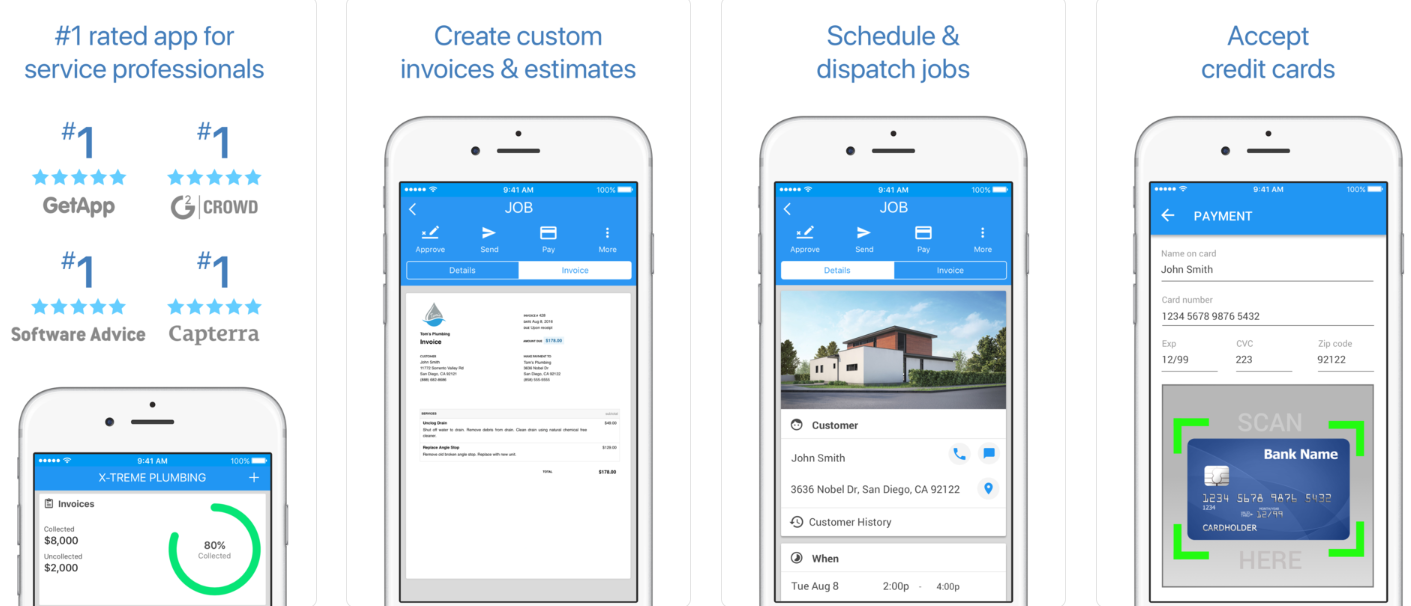 Housecall Pro Best Pumbing Apps