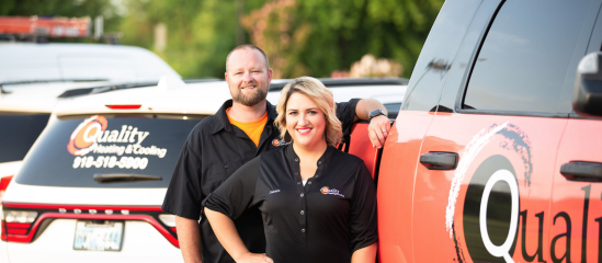 Superpro Spotlight - Cassie & Oscar Pound, Quality Heating & Cooling