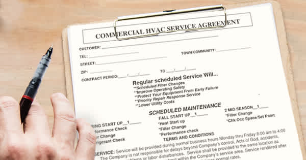 Housecall HVACMaintenanceContracts Header