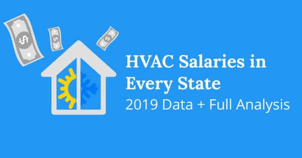 HVAC Tech Salaries By State
