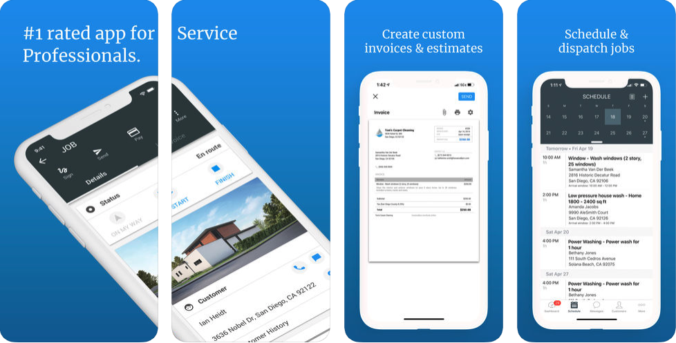 housecall pro app screenshot