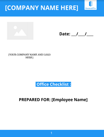 Office Checklist