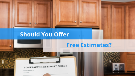 Should You Offer Free Estimates hero image