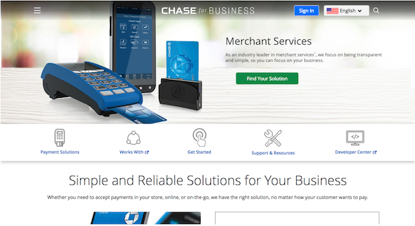 Chase Merchant Services | Best for Chase Bank Customers