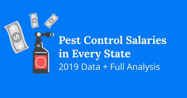 Pest Control Salaries In Every State 2019 Data