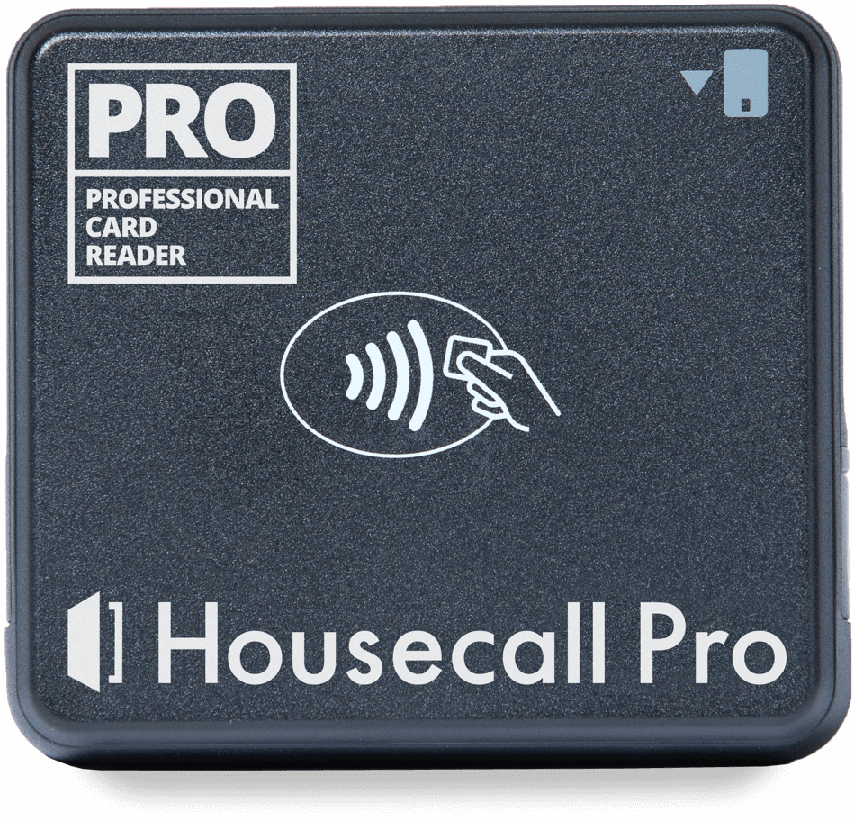 Housecall Pro Card Reader