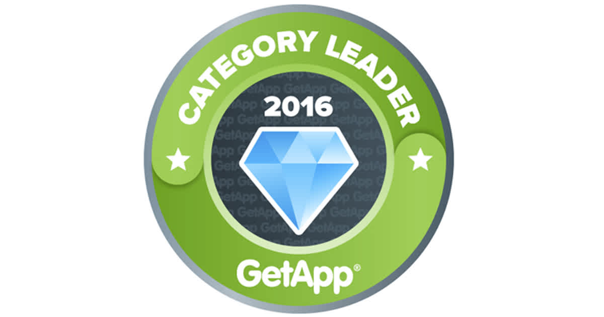 GetApp 2016 Category Leader