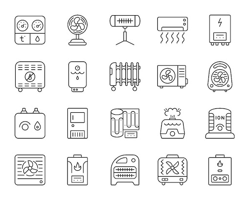 HVAC Clipart Examples