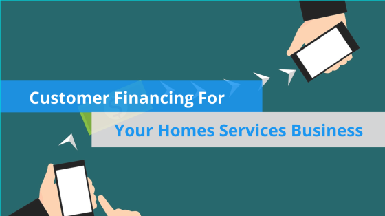 Customer Financing For Your Home Services Business image hero