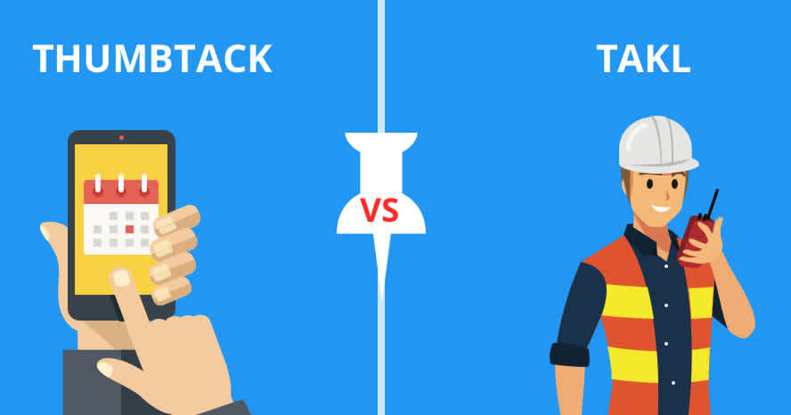 Thumbtack vs Takl Header
