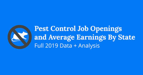 Pest Control Technicians Looking For Work – Top Companies In