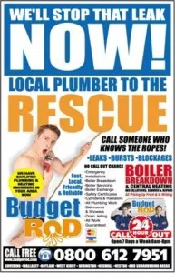 funny plumbing ad example