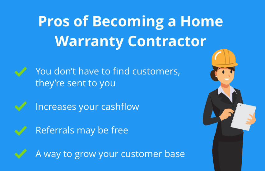 being a home warranty contractor