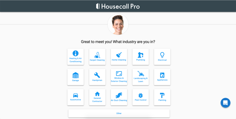 Great to meet you image on Housecall Pro