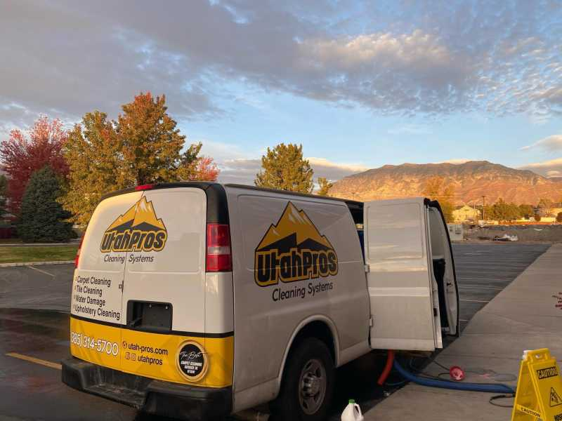 Moroôni grew his carpet cleaning company, Utah Pros Cleaning Systems, during a pandemic
