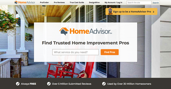 HousecallPro HomeAdvisor
