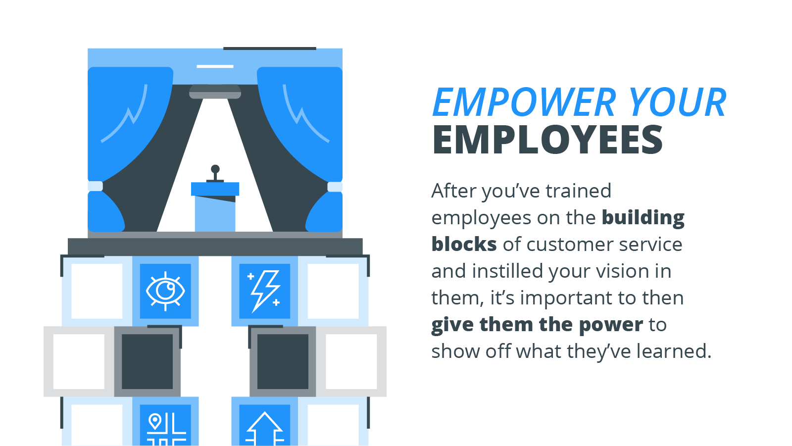 how to empower your employees to provide customer service without micromanaging them.