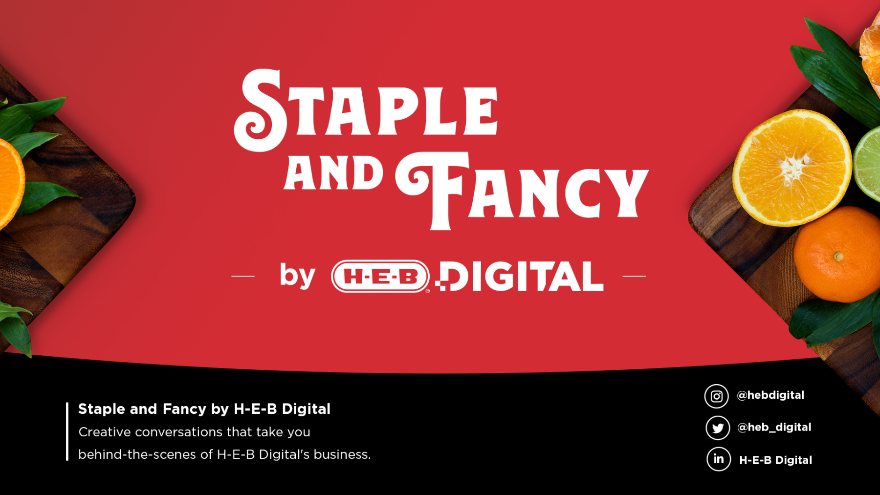 Watch Making H-E-B products: digital and delicious