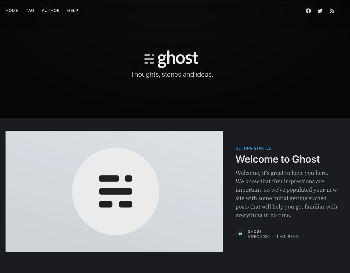 ghost-blog