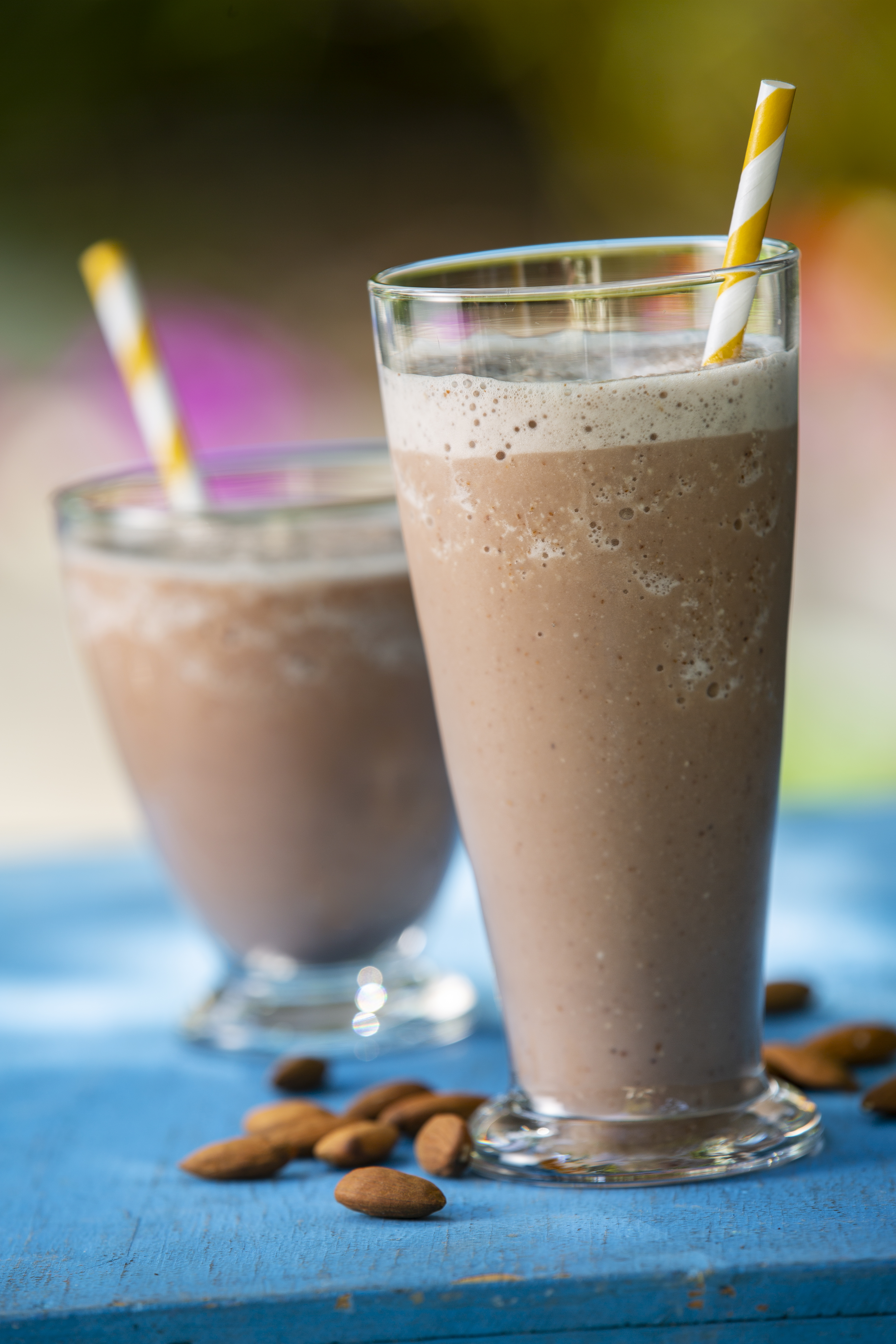 Chocolate Almond Banana Smoothie