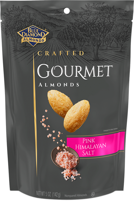 Pink Himalayan Salt Almonds