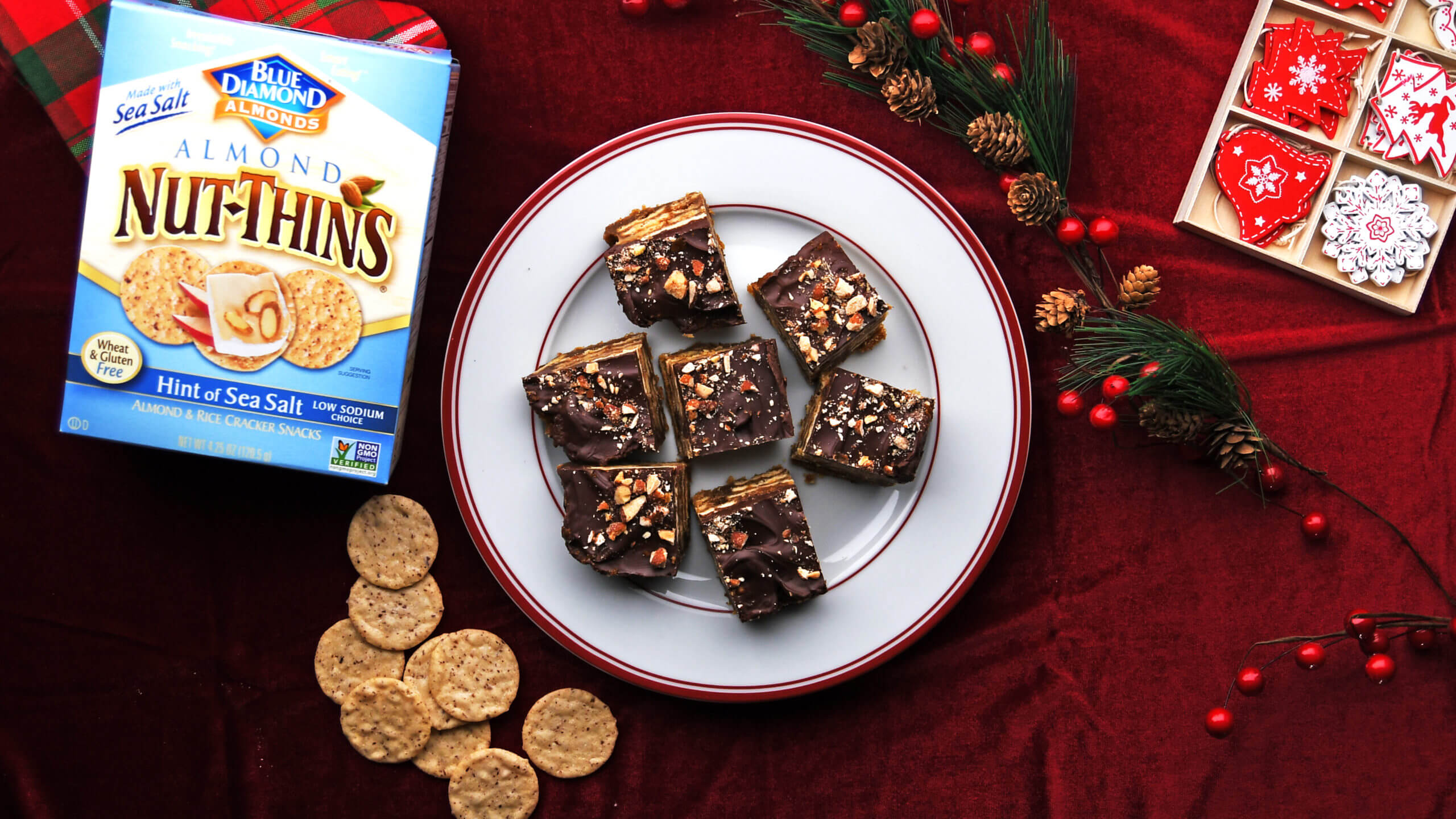 Blue Diamond Almond Nut-Thins® Chocolate Almond Toffee