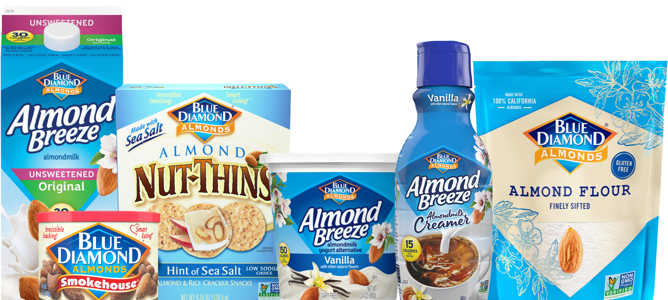 Blue Diamond Almonds product grouping