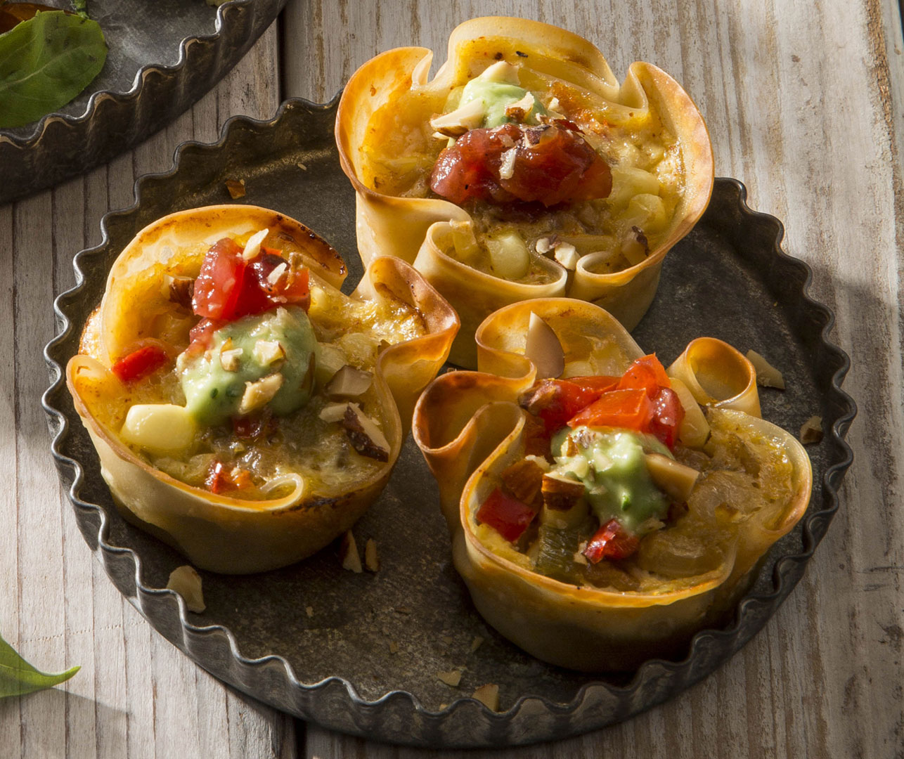 Gold Rush Sriracha Almond Cups