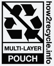 Multi-Layer Pouch Recycling Label