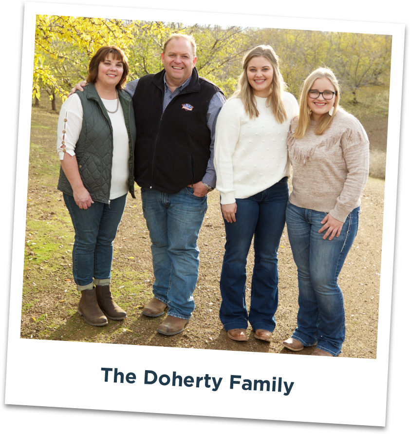 The Doherty Family, Blue Diamond Growers