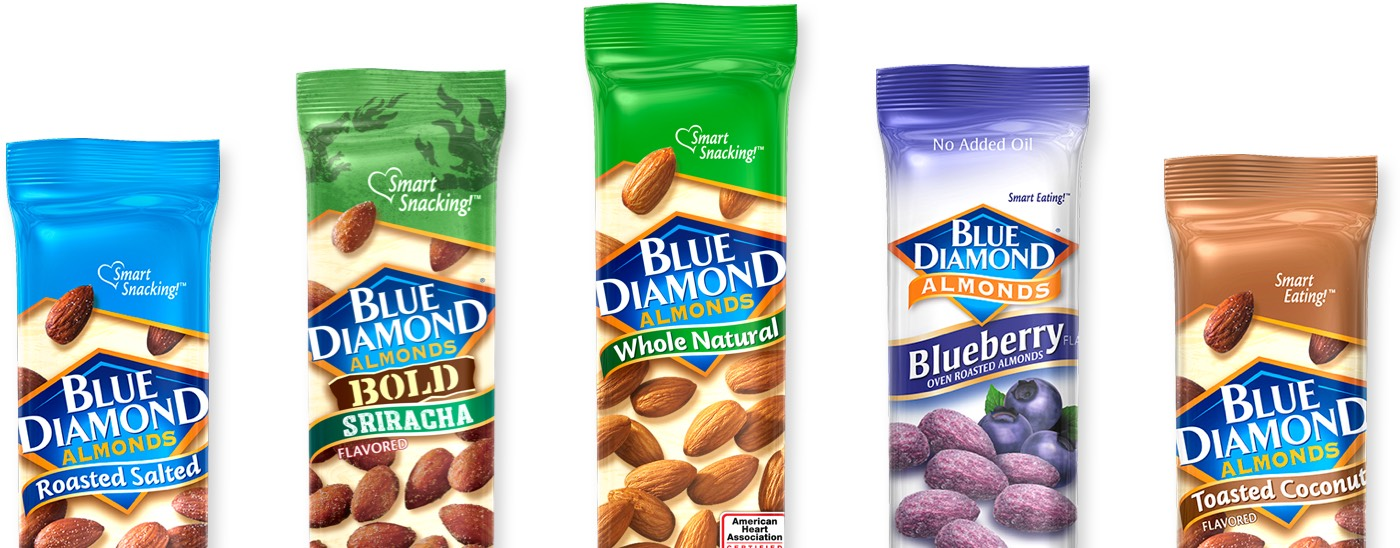 Blue Diamond Snack Almonds