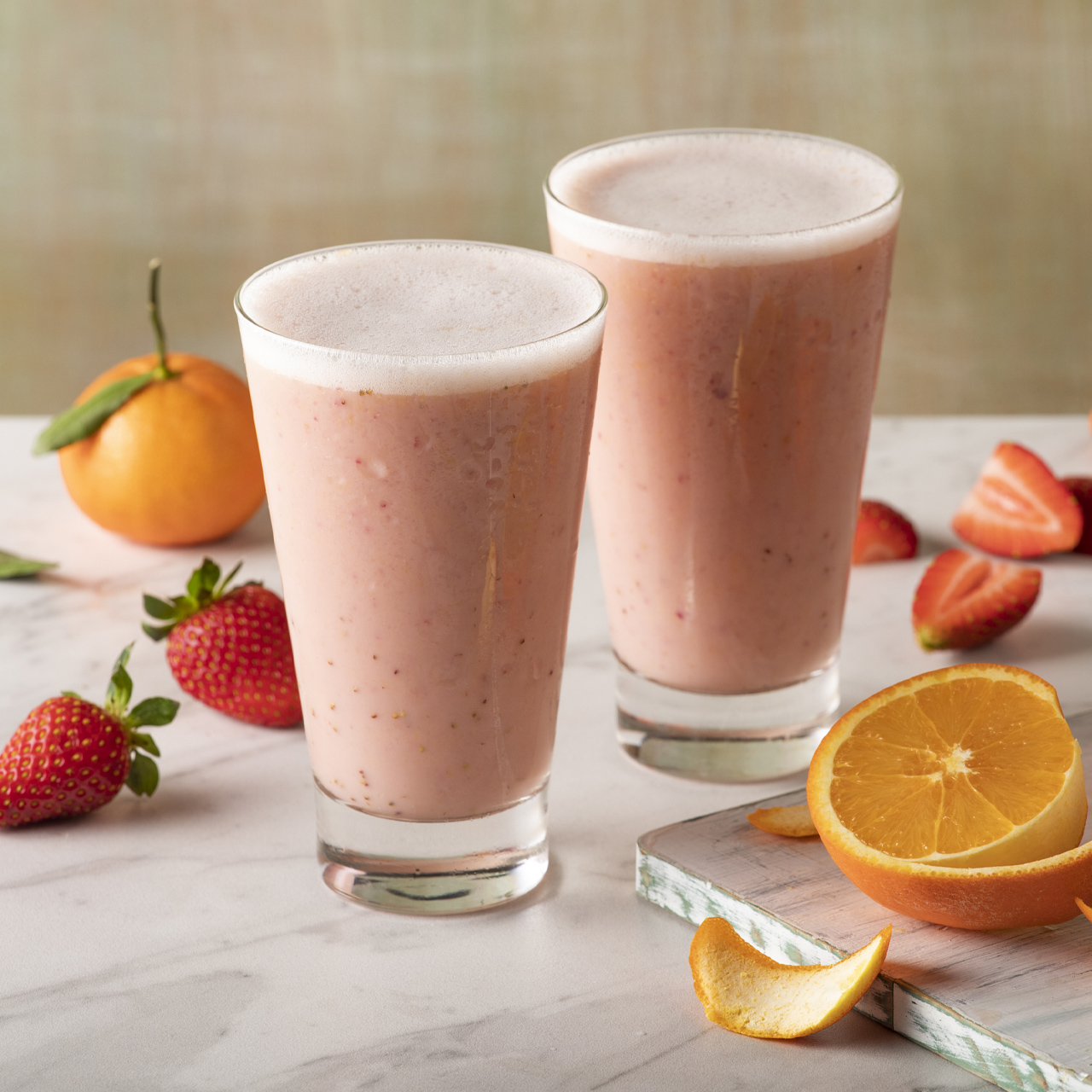 Strawberry Orange Sunrise Smoothie